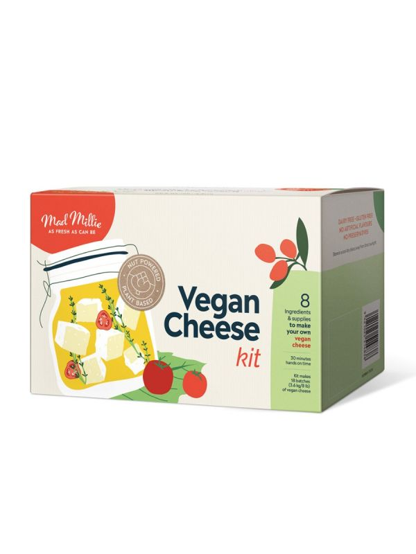 How To Make Vegan Cheese With Mad Millie