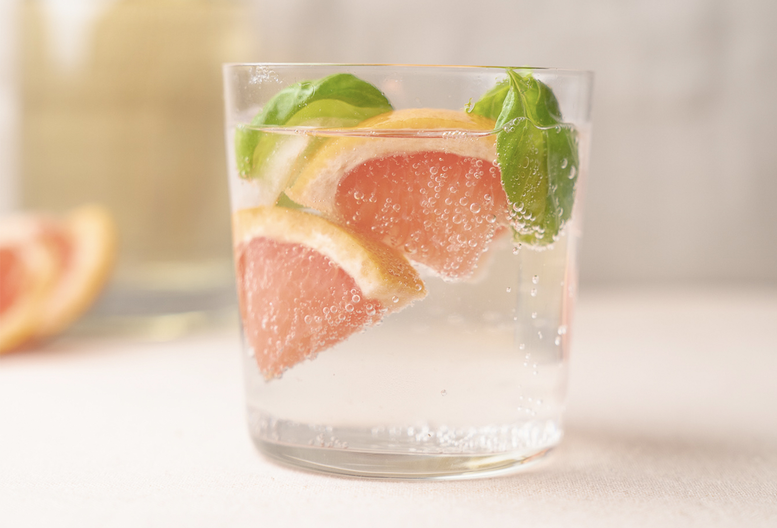 Grapefruit, Ginger and Basil Gin
