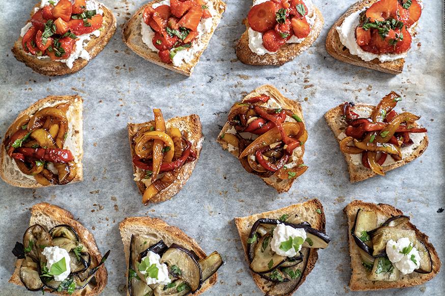 Bruschetta Recipes to delight your taste buds