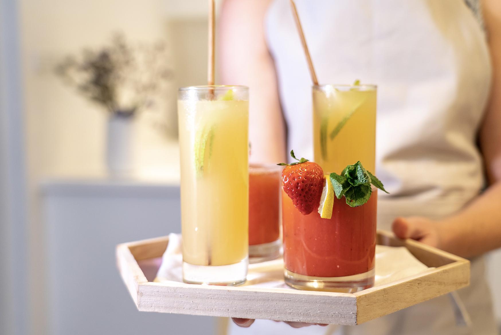 Festive Mocktails