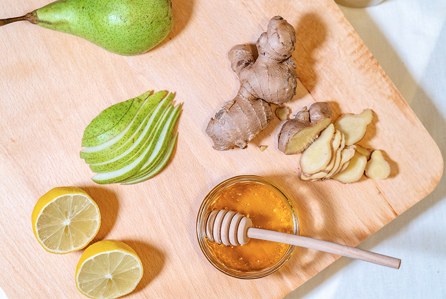 Mad Millie Ginger & Pear Cocktail Ingredients
